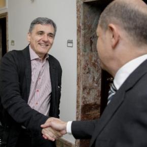 Καλό κλίμα αλλά… κλειστά «χαρτιά» στην συνάντηση Σολτς- Τσακαλωτου στοΒερολίνο