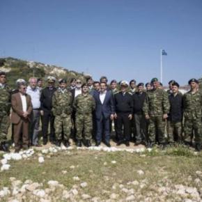 Το μήνυμα Τσίπρα στους στρατιώτες της Διοίκησης Άμυνας στοΚαστελόριζο