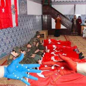 """Παιδιά """"μάρτυρες""""! Η Τουρκία τα μαθαίνει να πεθαίνουν σ΄ όλη την Ευρώπη!Φωτογραφίες"""