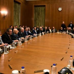 Υπουργικό συμβούλιο τη Μ.Τρίτη για Σκοπιανό καιελληνοτουρικά