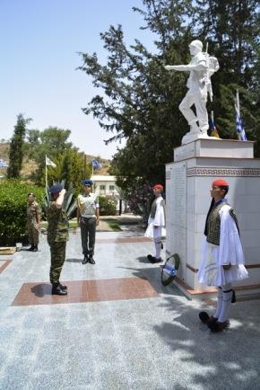 Επίσκεψη ΓΕΠΣ – Υπαρχηγού ΓΕΣ στην Ελληνική Δύναμη Κύπρου(ΕΛΔΥΚ)