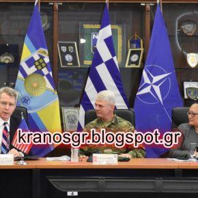 Εντυπωσιασμένος ο Αμερικανός Πρέσβης από την επίσκεψή του στο Γ'ΣΣ/NRDC-GR