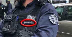 Γάλλος αστυνομικός περνάει ΕΔΕ επειδή έραψε στη στολή του «ΜολώνΛαβέ»