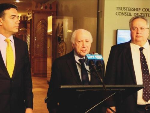 Στις Βρυξέλλες το νέο ραντεβού Κοτζιά- Ντιμιτρόφ- Γιατί δεν επετεύχθη συμφωνία στη Ν. Υόρκη