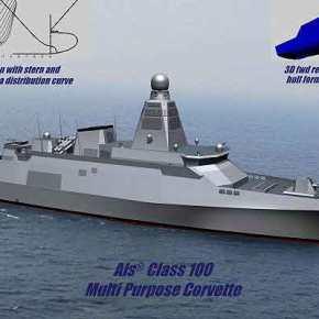Που να βρίσκεται άραγε η …Σχεδίαση της Ελληνικής Κορβέτας Als® Class 100;