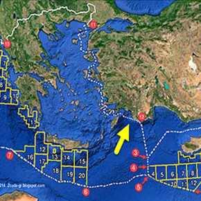 Η Τουρκία ορίζει ΑΟΖ και υφαλοκρηπίδα εξαφανίζοντας το Καστελλόριζο και «διαλύοντας» την Κυπριακή ΑΟΖ- Έρχονταιεξελίξεις