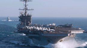 """""""Έδεσε"""" στη Σούδα το αμερικανικό αεροπλανοφόρο CVN 75 USS HarryTruman"""
