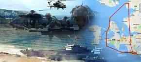 EFES 2018: Πρόβα απόβασης στα νησιά κάνει η Τουρκία (φωτό,βίντεο)