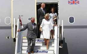 Έφθασαν στην Ελλάδα ο Κάρολος και η σύζυγος του, Καμίλα(φωτό-βίντεο)
