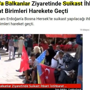 Φήμες για δολοφονία του Ερντογάν σταΒαλκάνια
