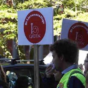 1000 μαθητές και 100 καθηγητές διαδήλωσαν υπέρ των Αρχαίων Ελληνικών! Στο Βέλγιο, όχι στηνΕλλάδα