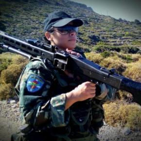 Δέσποινα Κουτσουναμέντου: Η πρώτη γυναίκαΕθνοφύλακας