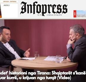 «Φευγάτος» ιστορικός από τα Τίρανα: Οι Αλβανοί δεν υπήρξαν ποτέ, τους δημιούργησαν οιΤούρκοι