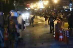 Πολλές συλλήψεις για τα επεισόδια στηΜυτιλήνη