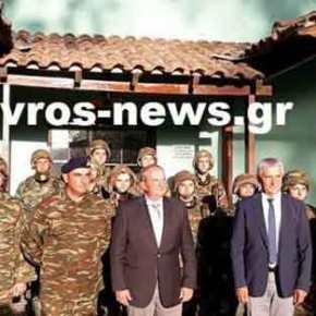 Επίσκεψη με νόημα του Κώστα Καραμανλή στον Έβρο – Συζήτησε με τους στρατιωτικούς γιαόλα…