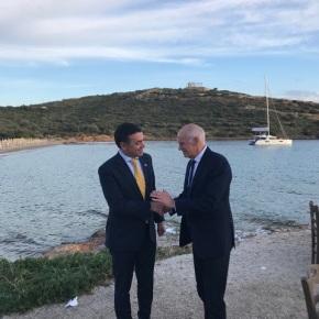 Συνάντηση Ντιμίτροφ- Παπανδρέου: Τα Σκόπια και η Ελλάδα έχουν ιστορική ευκαιρία να γίνουνσύμμαχοι