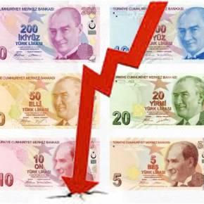 ΤΟΥΡΚΙΑ: Πληθωρισμός στα ύψη και η λίρα σε ιστορικά χαμηλάεπίπεδα!