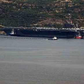 Ακροβολίζεται ο Αμερικανικός στόλος στο Αιγαίο: Αντιαεροπορική ασπίδα με τρομερή δύναμη πυρός από Σούδα μέχριΠειραιά