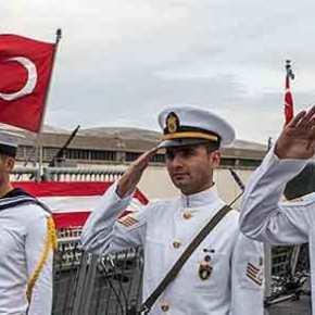 Συνελήφθησαν 19 αξιωματικοί του τουρκικού Ναυτικού & καταζητούνται άλλοι 12 – «Ετοίμαζανπραξικόπημα»