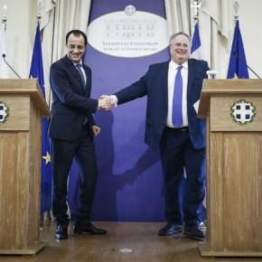 Στην Κύπρο ο Ν. Κοτζιάς εν όψει της αυριανήςσυνόδου