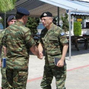 Επίσκεψη Αρχηγού ΓΕΣ στη Σχολή Πεζικού(ΣΠΖ)