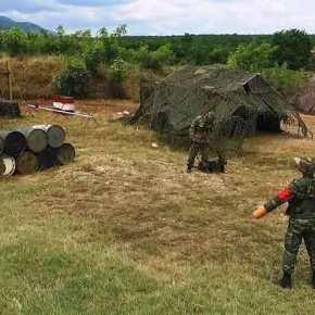 Άσκηση με στρατιωτικούς σκύλους για πρώτη φορά στις ΈνοπλεςΔυνάμεις