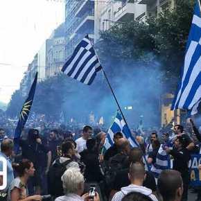 Αντίσταση έως τέλους στην χούντα των Αριστερών! Υπό πολιορκία τα γραφεία των ΣΥΡΙΖΑΝΕΛ στηΘεσσαλονίκη