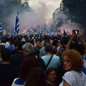 Οι Έλληνες αντιστέκονται – Μεγαλειώδης πορεία για την Μακεδονία με συμμετοχή χιλιάδων πολιτών στηνΘεσσαλονίκη