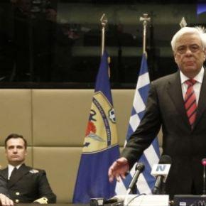 Στο υπουργείο Εθνικής Αμυνας τη Δευτέρα ο ΠροκόπηςΠαυλόπουλος