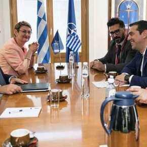 Το θέμα των δύο Ελλήνων που κρατούνται στην Τουρκία έθεσε ο Τσίπρας στη συνάντηση με τονΣτόλτενμπεργκ