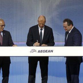 Υπογράφηκε η συμφωνία Aegean με Airbus για 42 αεροσκάφη έναντι 5 δισ.ευρώ