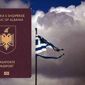 H κυβέρνηση μειώνει τα τέλη διαμονής για τους μετανάστες –Πανηγυρίζουν οι Αλβανοί στηνΕλλάδα