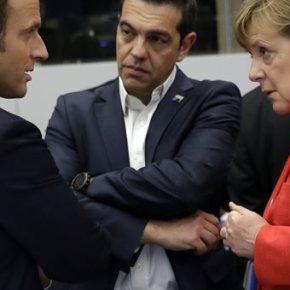 Έξτρα μαξιλάρι 15 δισ. «σχεδιάζει η Γερμανία» για τη μετα-Μνημονιακή Ελλάδα .Αυτό δήλωσε ανώτερος γερμανός αξιωματούχος στο πρακτορείο Reuters, πιθανώς σε ένα σινιάλο πως η ελάφρυνση του χρέους δεν θα είναι ιδιαίτεραβαθιά.