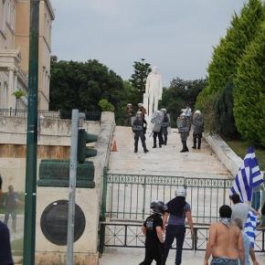 Συλλαλητήριο για τη Μακεδονία: Λίγος κόσμος, πολλήένταση