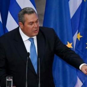 Καμμένος στη Σύνοδο ΕΕ: «Έχετε ευθύνη για τους ΈλληνεςΣτρατιωτικούς»