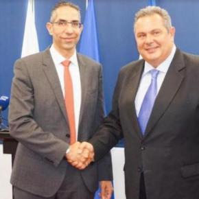 Καμμένος από Κύπρο: Θα απαντήσουμε συντριπτικά σε όποιον αμφισβητήσει τα κυριαρχικά μαςδικαιώματα