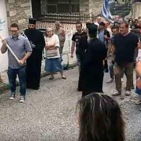 «Σείστηκε» η γη στη Καστοριά: «Αλήτες πολιτικοί, η Μακεδονία είναιΕλληνική»