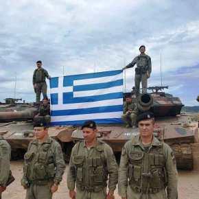Από Δευτέρα Θύελλες: Σε πολεμική ετοιμότητα τέθηκαν οι τεθωρακισμένες Ταξιαρχίες τηςχώρας