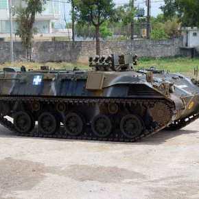 Ανατράπηκε ΤΟΜΠ «Λεωνίδας-2» της ΕΛΔΥΚ στην Κύπρο – Τραυματίστηκαν 5στρατιώτες