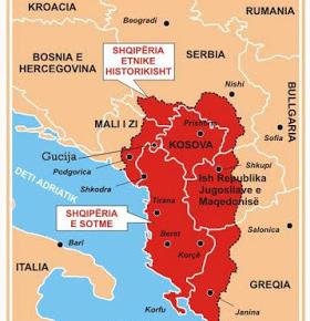 Σερβία: Η Μεγάλη Αλβανία είναι απειλή για την ειρήνη και τη σταθερότητα σταΒαλκάνια
