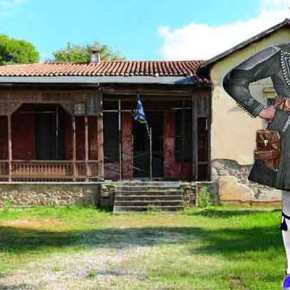 Καταρρέει ξεχασμένο το σπίτι του Παύλου Μελά στηνΚηφισιά