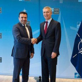 Βέβαιος ο Στόλτενμπεργκ για έναρξη ένταξης της ΠΓΔΜ στο NATO τονΙούλιο
