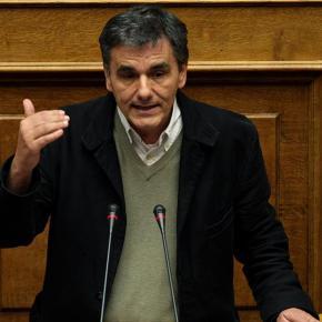 """Τσακαλώτος: Είπα ότι μειώνουμε την λιτότητα, όχι ότι τελειώνει η λιτότητα -«Πιστεύετε ότι η Μέρκελ θα σας πει """"καλώς τα παιδιά""""…», είπε στον Βορίδη και του ευχήθηκε «goodluck»"""