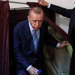 Τουρκικές εκλογές: Ο Ερντογάν προηγείται με ποσοστό55,08%