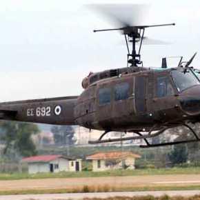 Περίεργο ατύχημα με ελικόπτερο της Αεροπορίας Στρατού – Τελευταία στιγμή σώθηκαν οι πιλότοι(photo)