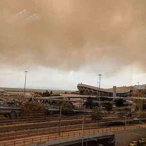 Φωτιά ΤΩΡΑ: Σοκαριστικό βίντεο με τις φλόγες να κυκλώνουν την εθνικήοδό