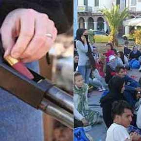 Λέσβος: 78χρονος αγρότης στη Μόρια πυροβόλησε Σύρομετανάστη
