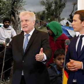 Ζεεχόφερ: Πίσω στην Ελλάδα πρόσφυγες που θα εντοπίζονται στα γερμανικάσύνορα