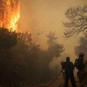 Φωτιές στην Αττική: Δείτε τις περιοχές που κινδυνεύουν να γίνουν «παγίδεςθανάτου»