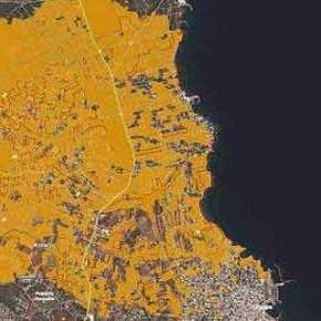 Το Copernicus δείχνει την καταστροφή: Η φωτιά έκανε στάχτη σχεδόν 13.000 στρέμματα γης -Εκεί ζούσαν 3.664άνθρωποι